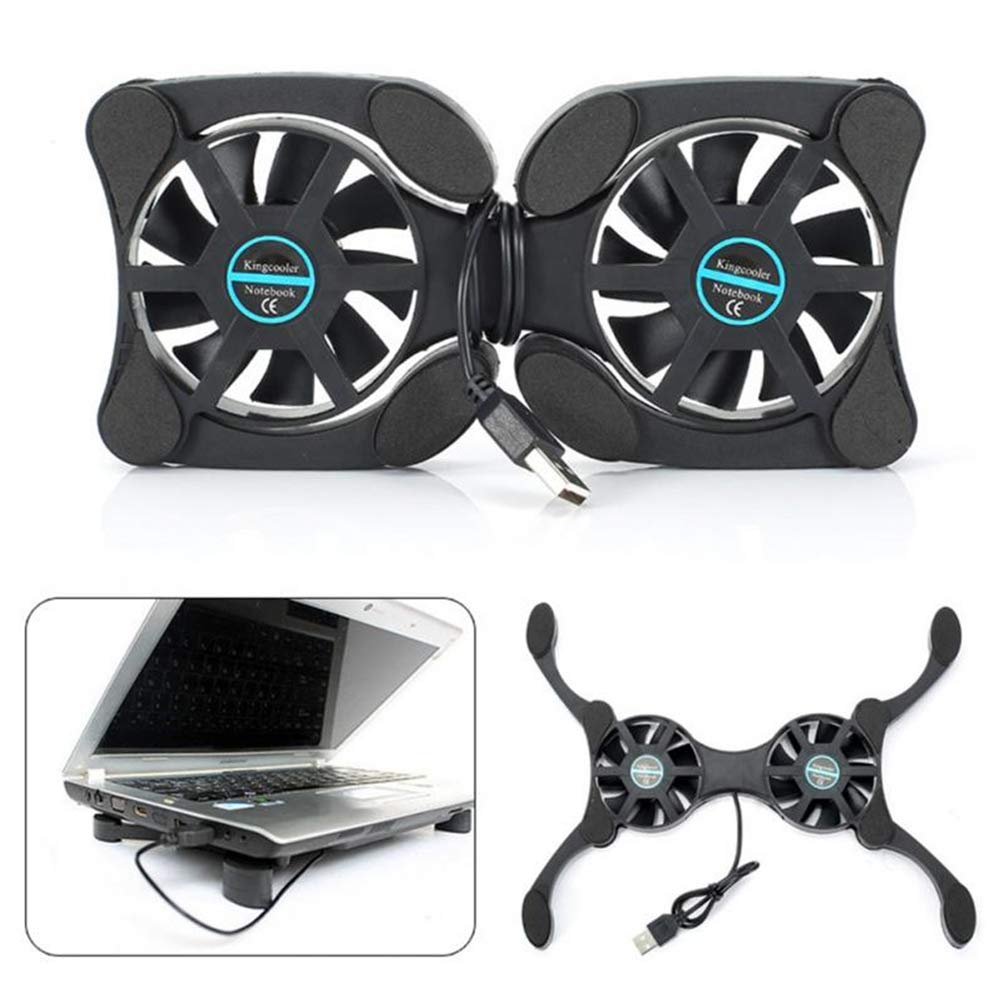 Ventilation Radiator Air Cooler USB Exhaust Fan for Laptop ZC Dawn Laptop Fan Cooling Pad 17 Inch
