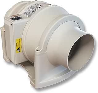 QMF150S de Aerauliqa – Ventilador helicocentrifugo en línea ...