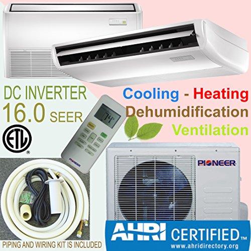 PIONEER Air Conditioner Inverter++ Split Heat Pump 18,000 BTU, 208-230 V