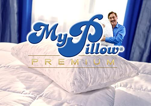 My Pillow Premium Series Bed Pillow, Standard/Queen Size, Green Level