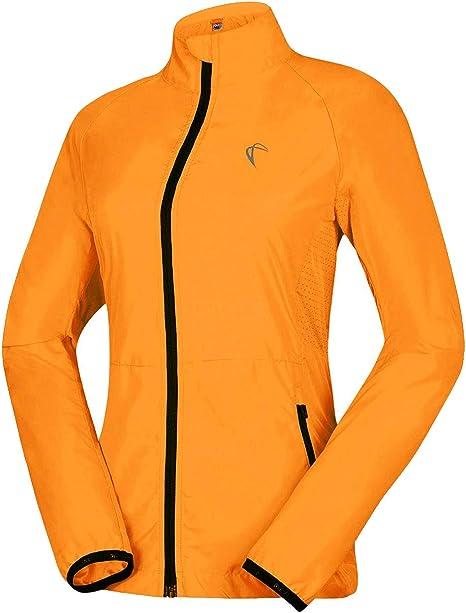 Women's Packable Windbreaker Jacket Lightweight Waterproof Cycling  Coat