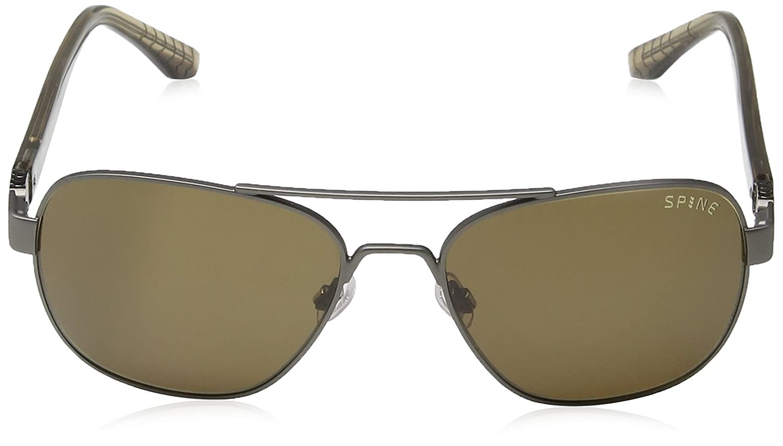 Spine - Lunette de soleil SP4001 401 Aviator - Gold/Brown Lens YWhBZDXE