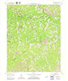 Kentucky Maps | 1954 Wheelwright, KY USGS Historical Topographic Map | 18in x 24in