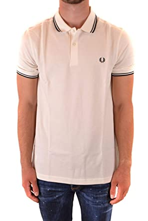 Fred Perry Luxury Fashion Hombre FPM360030H99 Blanco Polo | Otoño ...