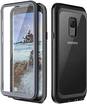Prologfer Funda para Samsung Galaxy S9 360 Grados Transparente ...