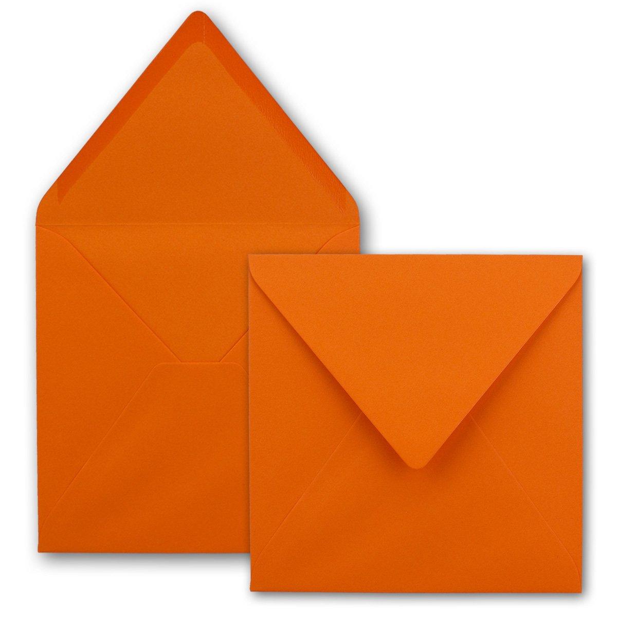 Quadratische Brief-Umschläge - Farbe Hochweiss     150 Stück   155 x 155 mm   Nassklebung   Für Einladungen & Hochzeit    Serie FarbenFroh® B07D2GN4M9 | Kostengünstig  e7ff48