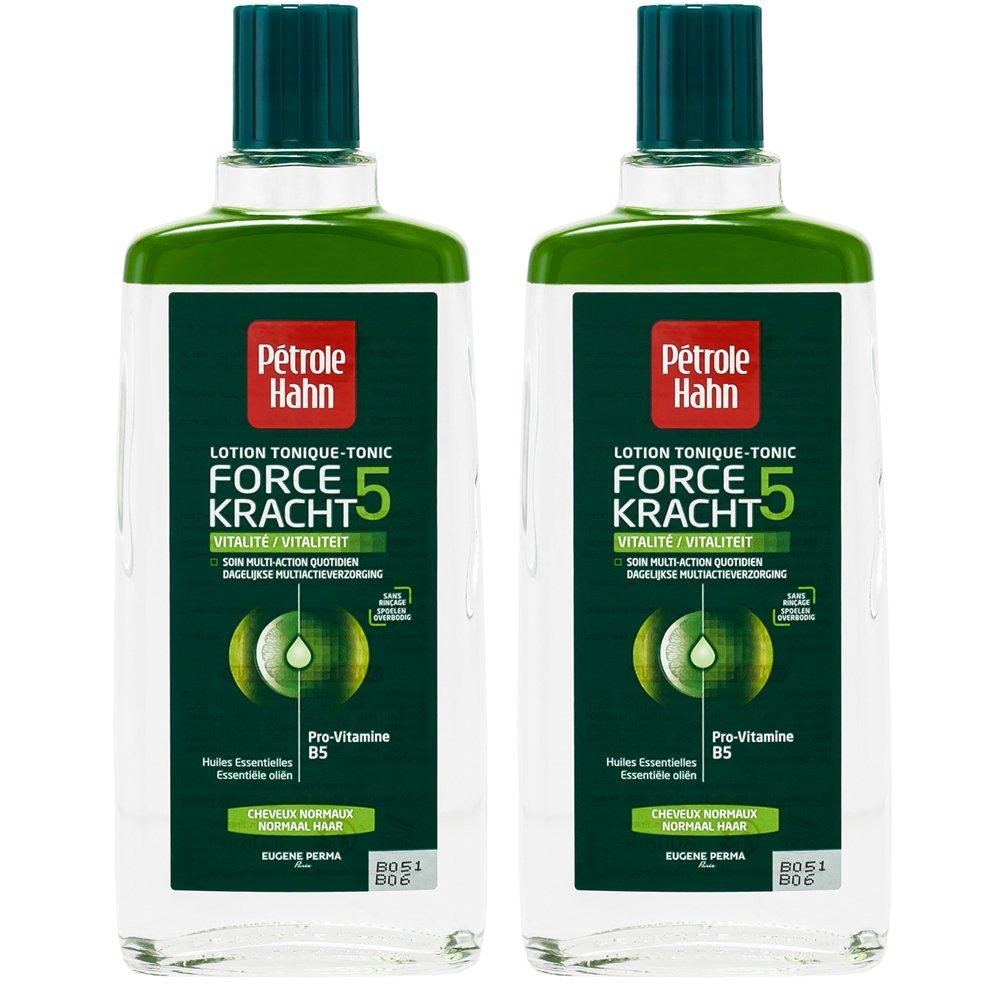 Pétrole Hahn Lotion Tonique Force 5 Vitalité pour Cheveux Normaux 300 ml - Lot de 2 Petrole Hahn