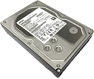 "HGST Ultrastar 7K4000 (0F17719) 4TB 64MB Cache 7200RPM SATA III 6.0Gb/s 3.5"" Internal Desktop Hard Drive for PC, Mac, NAS, RAID, CCTV DVR (Renewed) w/1 Year Warranty"