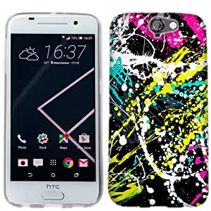 for HTC One A9 Paint Splatter Phone Cover Case