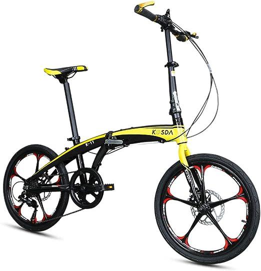 DPGPLP Cambio De Bicicleta Plegable De 20 Pulgadas - Bicicletas ...