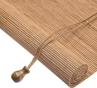 WYAN Roll Up Shade persiana de bambú Persianas venecianas con extracción Lateral for la Pantalla de Windows y Puertas de bambú Separados Decorar la habitación, tamaños múltiples para Ventana/Puerta: Amazon.es: Hogar