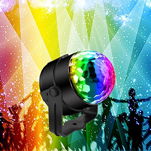 Sound Activated Party Lights Disco Lights with Remote