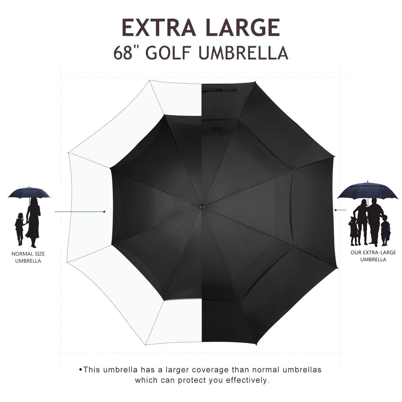 GIOVANIOR Cute Unicorn Rainbow Cloud Umbrella Double Sided Canopy Auto Open Close Foldable Travel Rain Umbrellas