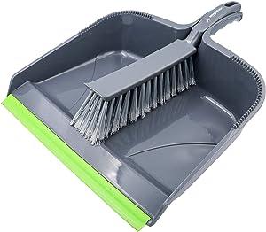 AmazonBasics Dustpan and Brush Set