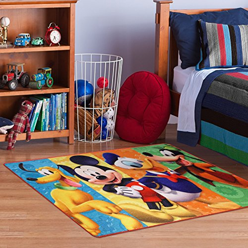Disney Mickey Mouse Clubhouse Rug Hd Digital Mmch Kids