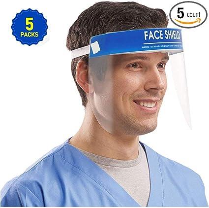 Amazon.com: YUN JIN Face Shield Anti-Fog Medical Protect Eyes and ...
