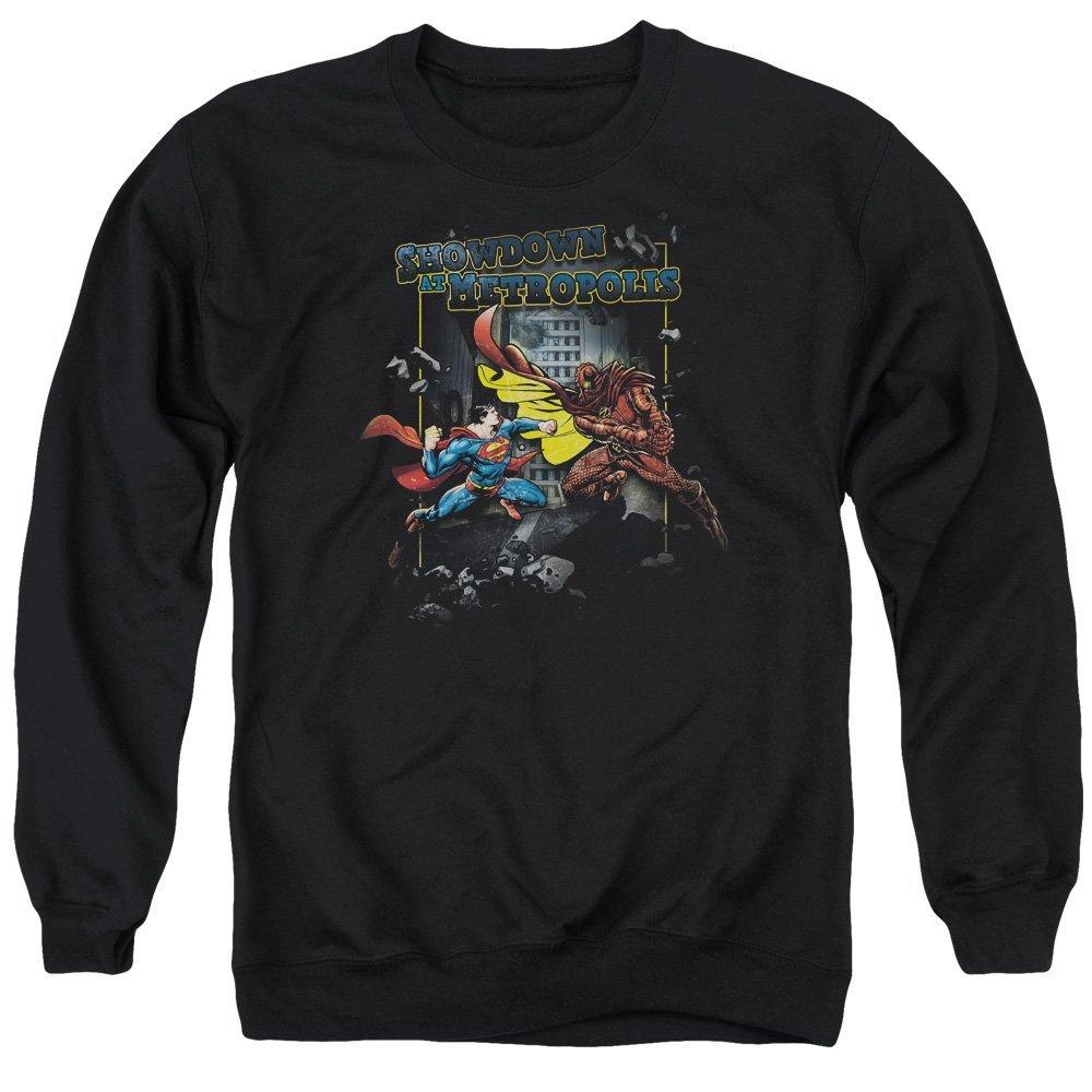 Showdown Adult Crewneck Sweatshirt Superman