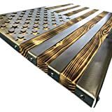 Amazon Com Extra Large American Flag Metal Wall Art Home Kitchen