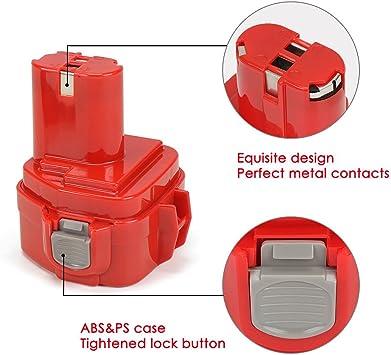 2,0Ah 2x Akku Batterie pour Makita 6227DWE 6227DWLE 6270D 6270DWAE Batterie