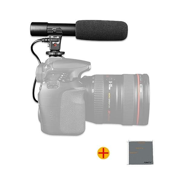 Fomito MIC-01 Video Digital Professional Studio/estéreo Grabación ...