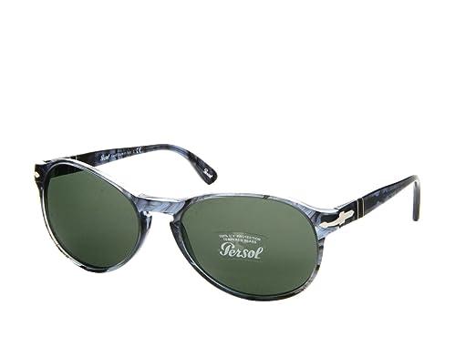 e15d9e8744f Persol Mens Sunglasses (PO2931) Blue Green Acetate - Non-Polarized - 53mm