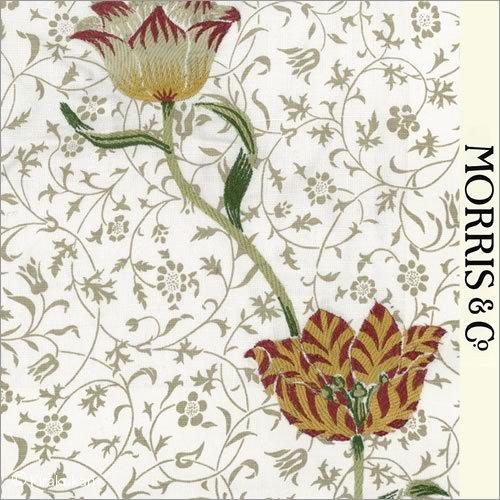 ウィリアムモリス 生地刺繍ガーデンチューリップ Garden TulipAC-1   B01DZL0EWY