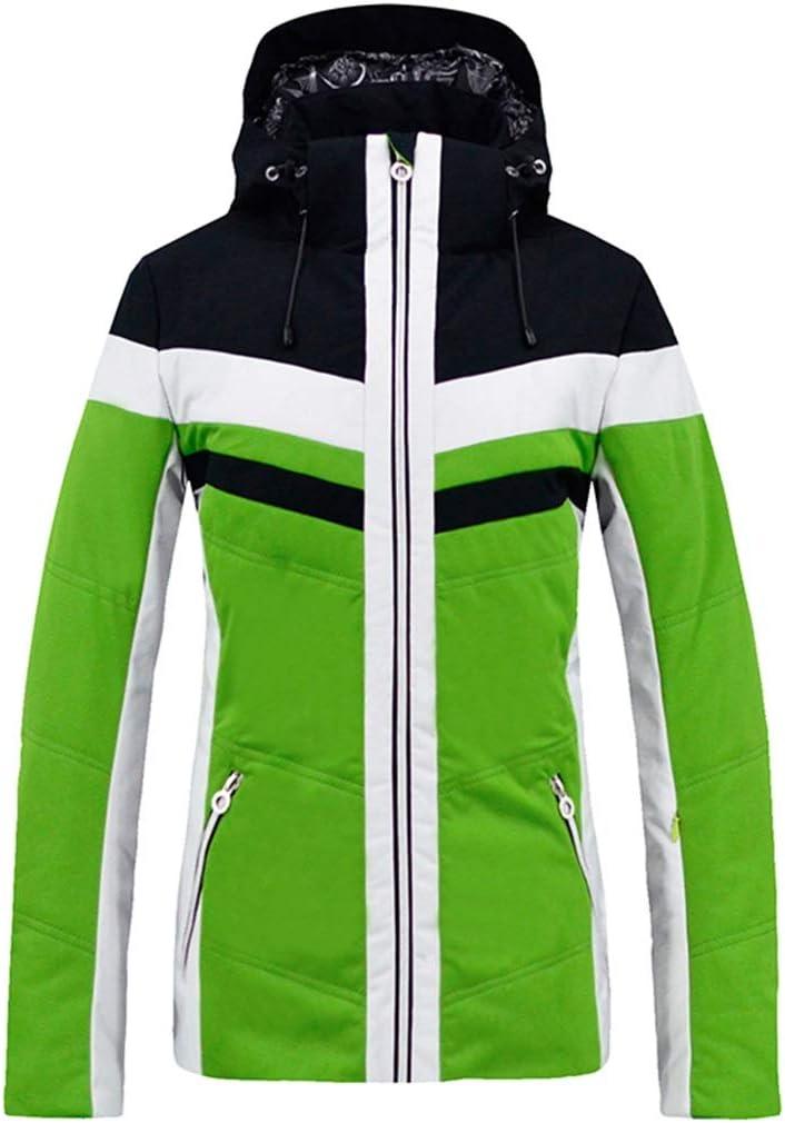 Sceliny レインスノーアウトドアハイキング用レディース防水スキージャケットウィンターコート (色 : オレンジ, サイズ : L) オレンジ Large