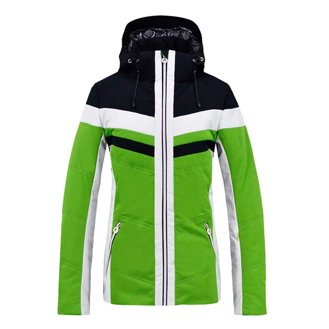 Yajiemei Cappotto Impermeabile per Giacca da Sci Invernale Caldo da da da Donna per Escursionismo all'aperto (Coloree   verde, Dimensione   L)B07M9BF15RM verde | Area di specifica completa  | A Buon Mercato  | Ad un prezzo inferiore  | Eccellente qualità  | 0afd20