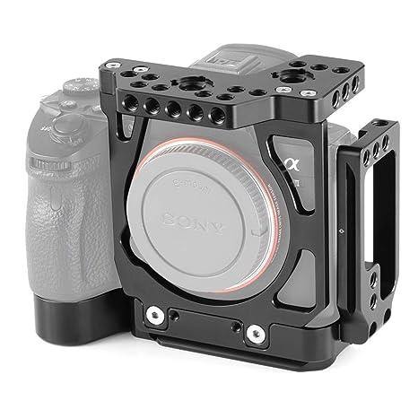 SMALLRIG A7III Mitad Cage Jaula con el L Bracket para Sony A7III ...