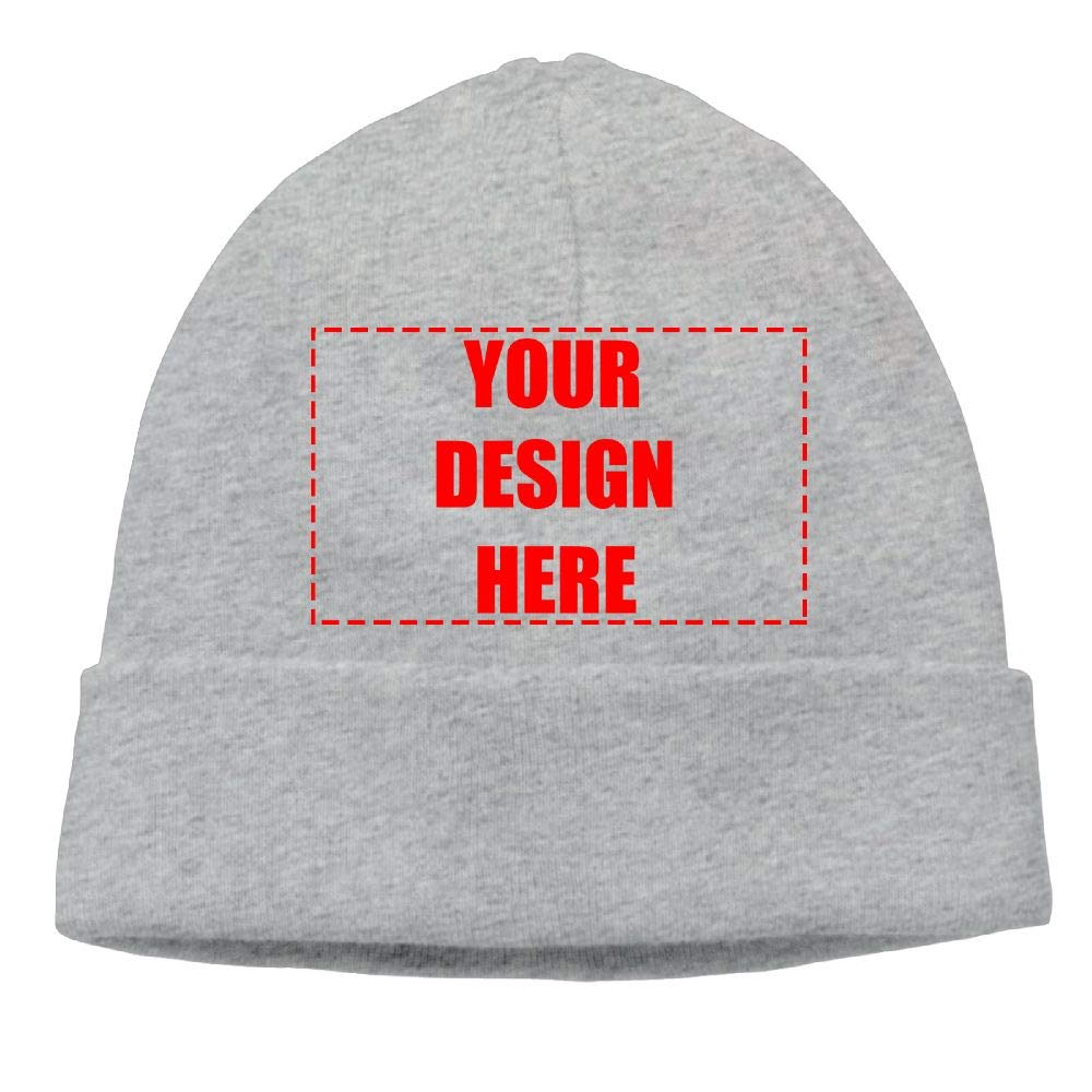 Unisex Custom Woolen Winter Soft Skull Cap Knitted Personalized Print  Beanie Hat at Amazon Men s Clothing store  80ae6cd306a