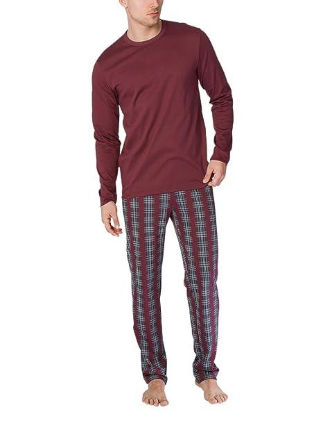 Calida Family Time Pyjama, Conjuntos de Pijama para Hombre, Rojo (English Red 169