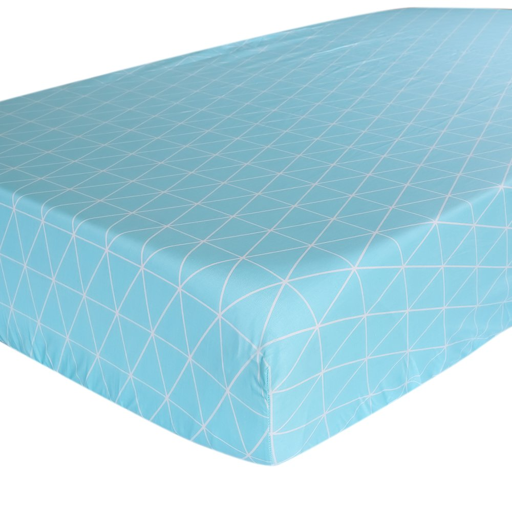 Crib Sheet UOMNY 100/% Cotton Crib Fitted Sheets Baby Sheet for Standard Crib and Toddler mattresses Nursery Bedding Sheet Crib Mattress Sheets for Boys and Girls1 Pack by UOMNY
