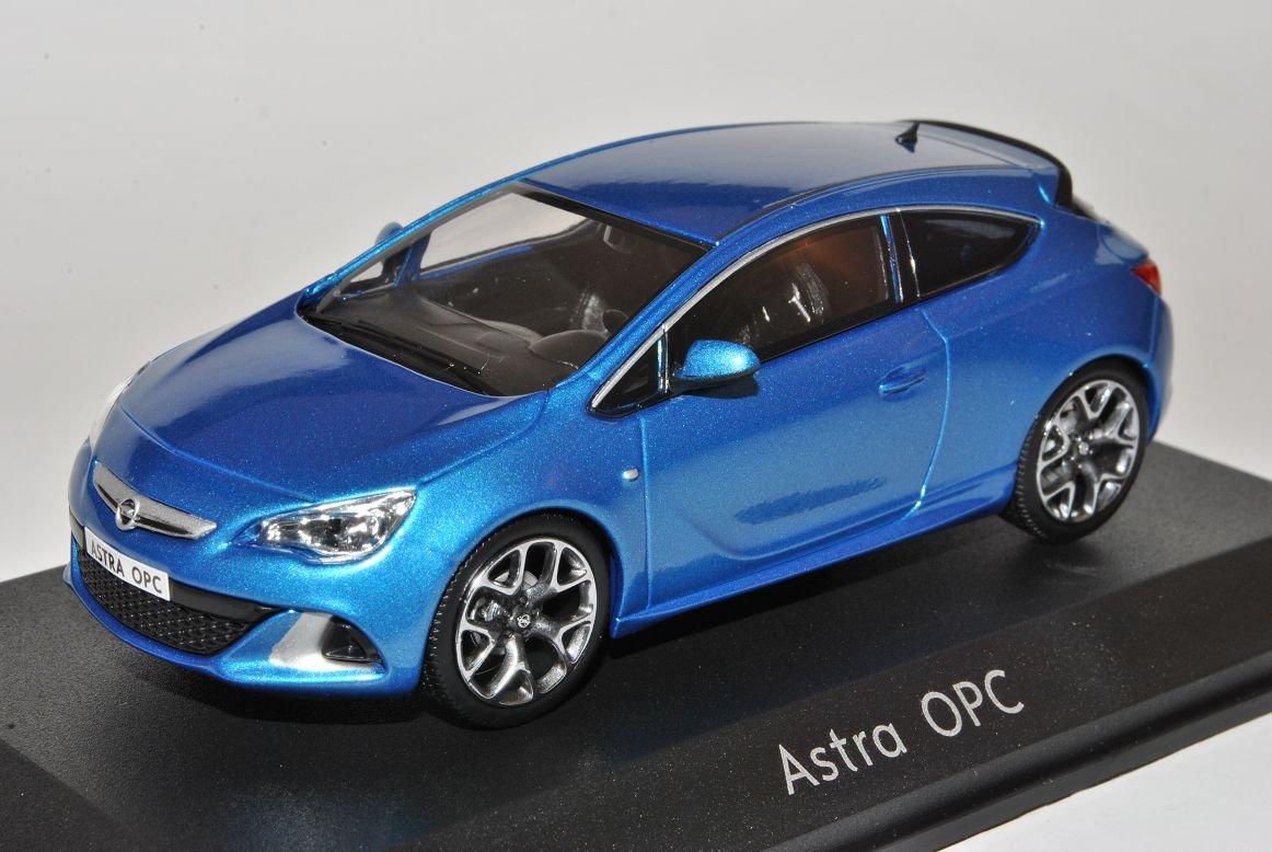 Motorart Opel Astra GTC OPC J Ab 2009 Coupe Blau 1//43 Modell Auto mit individiuellem Wunschkennzeichen