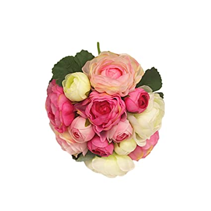 Bouquet Sposa Gelsomino.Bouquet Da Sposa Fiore Ragazza Di Artificiale Gelsomino Da Damigella