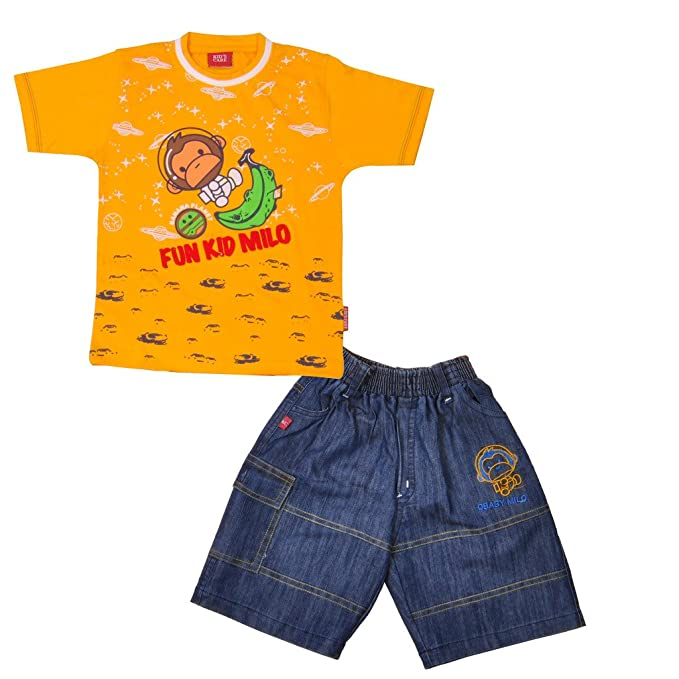 f1f52d4af8f7 Kid s Care Printed Baba Suit - Tshirt with Bottom Casual wear Combo ...