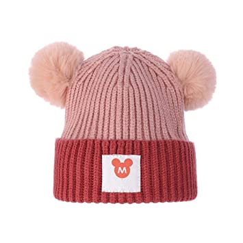 Amazon.com  Myzixuan Children s Hats Baby Cap Winter Thickening Pullover hat  Boys and Girls Knitted Sweater Cap  Garden   Outdoor 59f76a09cad