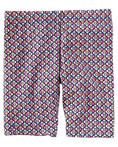 Carters Little Girls Geo Printed Stretch Cotton Biker Shorts  2T