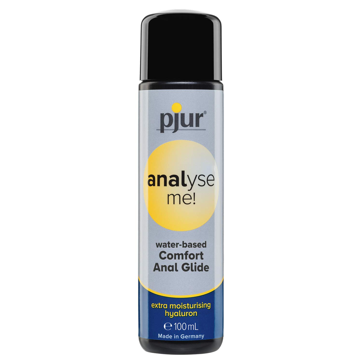 pjur Analyse Me Water Based Special Lubricant for Anal Sex Unisex Personal Lube | 3.4 fl.oz/100ml