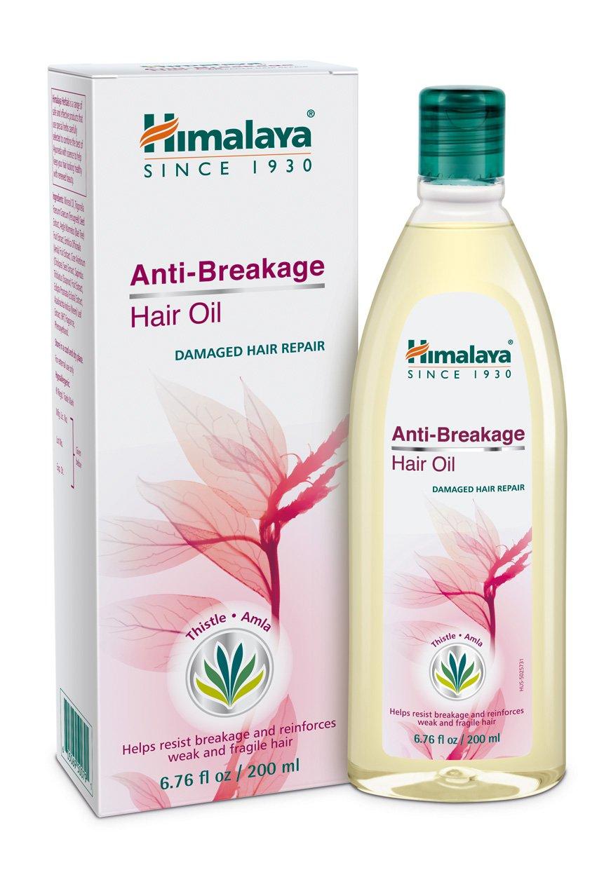 Himalaya Anti-Breakage Hair Oil with Thistle and Amla for Damaged Hair and Split Ends 6.76 oz (200 ml) Himalaya USA