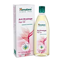 Himalaya Anti-Breakage Hair Oil with Thistle and Amla for Damaged Hair and Split...