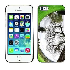 Paccase / SLIM PC / Aliminium Casa Carcasa Funda Case Cover - Plant Nature Forrest Flower 94 - Apple Iphone 5 / 5S