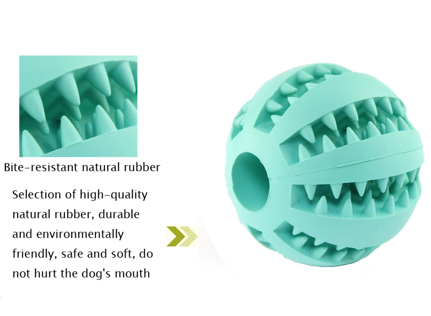 pet supplies wangstar dual pet toy ball for dogs dog toy bite