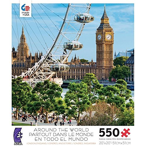 Ceaco 550-pc. Around the World London, England Puzzle