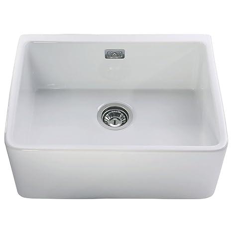 Astini Belfast 600 1.0 ciotola in ceramica bianca per lavello da ...