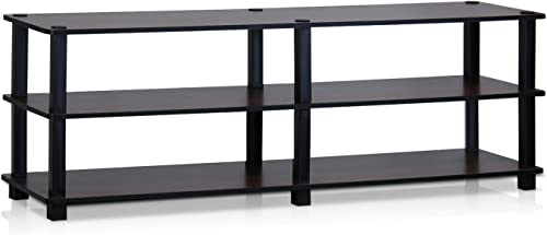Furinno Turn-S-Tube No Tools 3-Tier Entertainment TV Stand