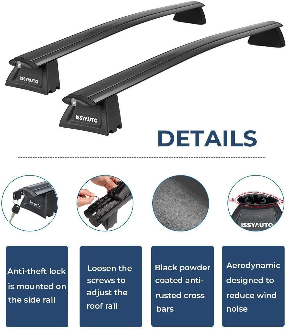 Exterior Accessories WK2 Roof Rack Cross Bars ISSYAUTO Cross Bars ...