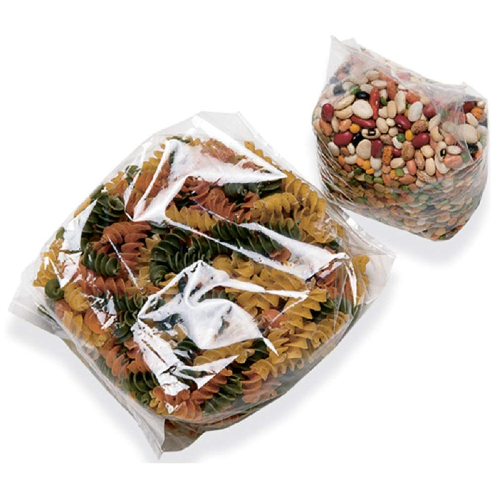 APQ Pack of 1000 Bottom Gusset Bags, Clear 11 x 13 + 4 BG. Polypropylene Bags 11x13, USDA Approved, 1.40 mil. Ideal for perishable Products. Plastic Poly Bags for Industrial and Food Service.