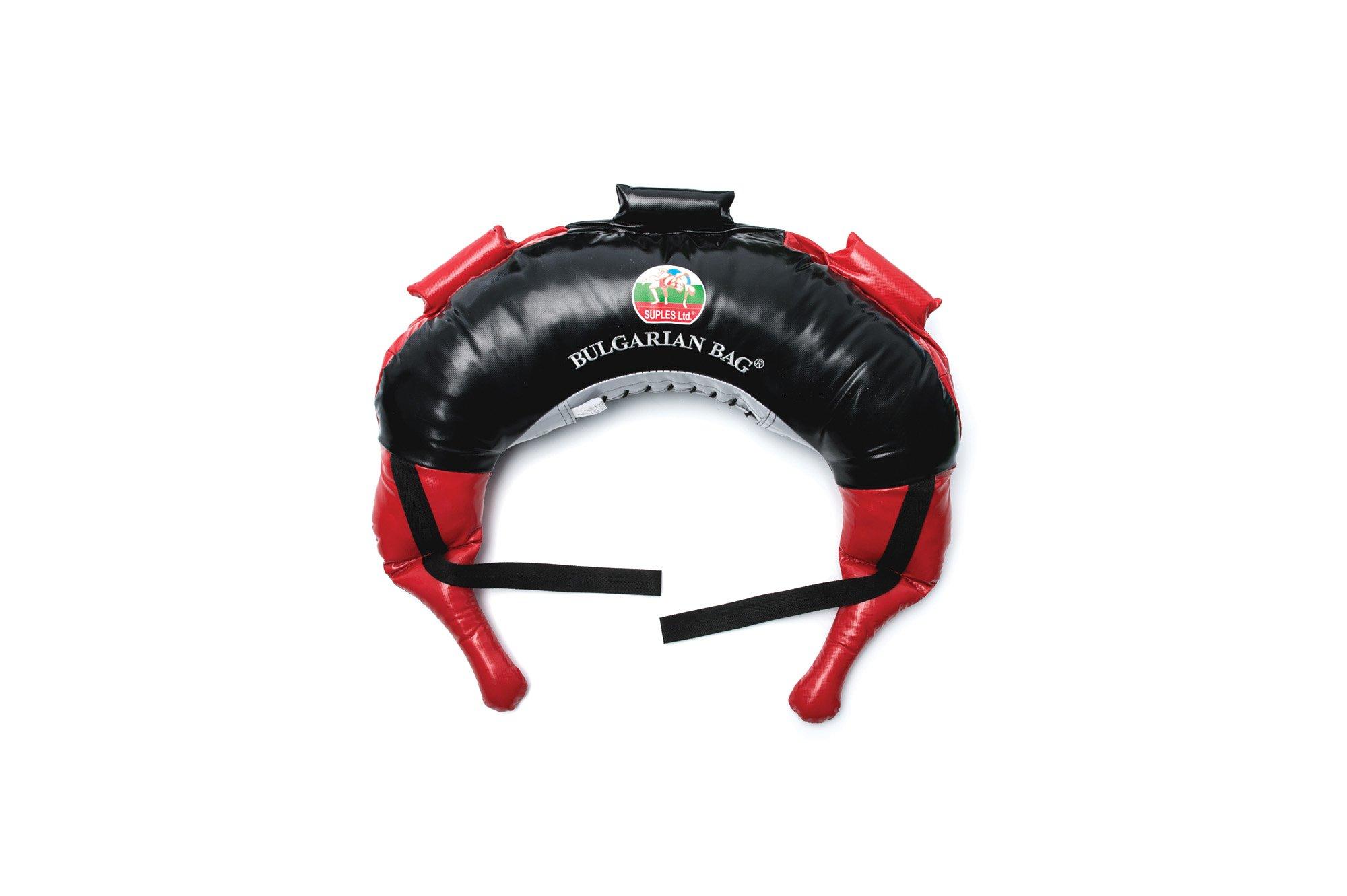 Suples Fitness Bulgarian Bag - Fitness Bulgarian Bag, Red, 12kg/26lbs