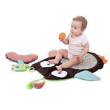 Amazon.com: Bebé tiempo de barriga alfombra de juegos, godr ...