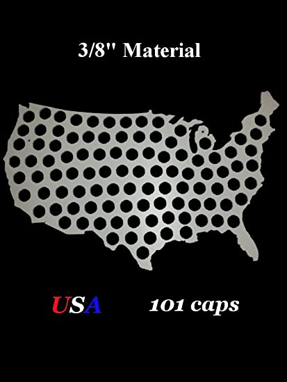 Amazon.com: USA Beer Bottle Cap Map - 3/8 PVC Plastic ... on usa dairy map, usa beach map, usa poultry map, usa games map, usa basketball map, usa wineries map, soda usa map, usa love map, usa water map, usa map art, funny us state map, usa map states and capital puzzle, usa fishing map, usa fish map, usa europe map, usa fun map, american funny world map, usa whisky map, usa history map, usa food map,